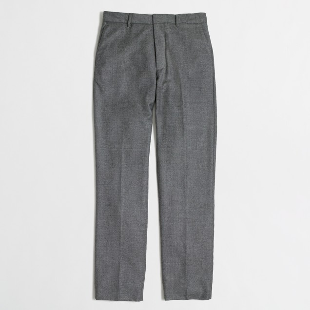 Thompson suit pant in flannel