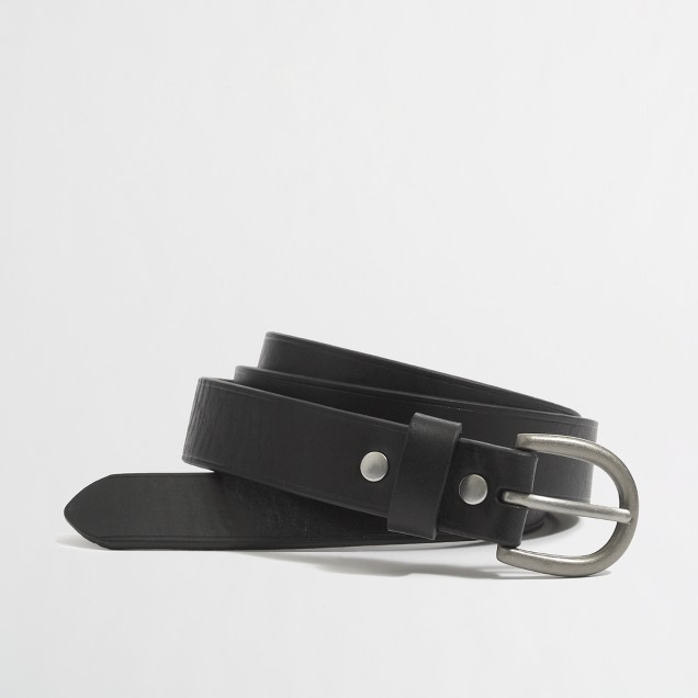 Factory leather buckle belt