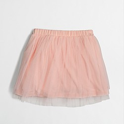 Factory girls' tulle skirt