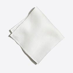 Factory linen pocket square