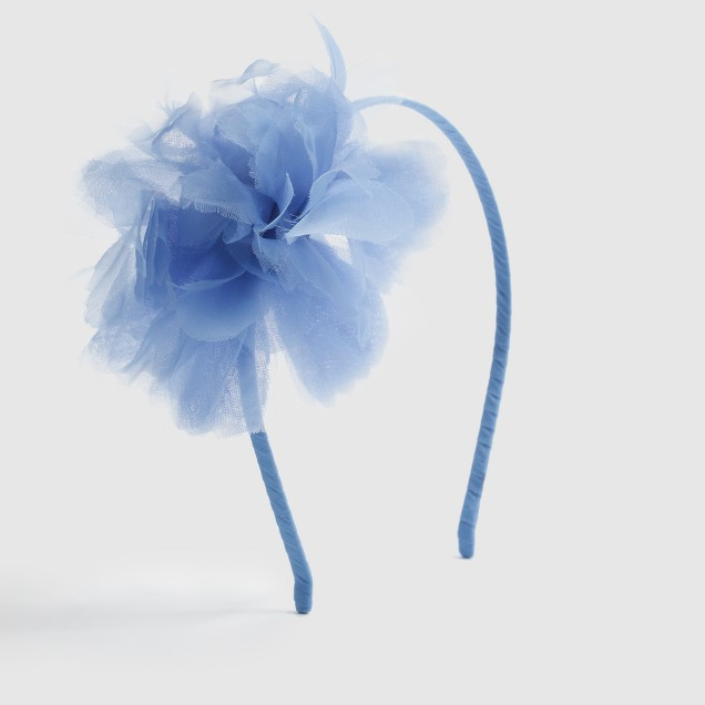 Factory girls' flower headband