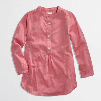 Factory girls' bib tunic