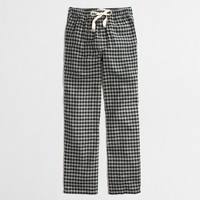 Factory buffalo check flannel pajama pant