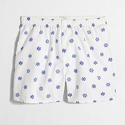 Factory snowflake boxers