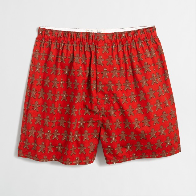 Gingerbread men boxers