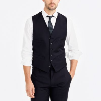 Thompson suit vest in worsted wool factorymen thompson suits & blazers c