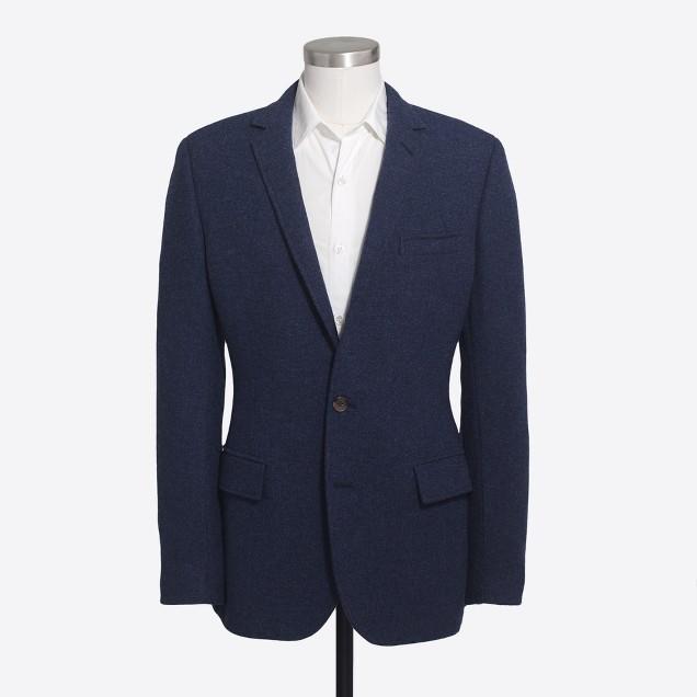 Thompson elbow-patch blazer in tweed wool