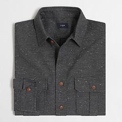 Factory tweed workshirt