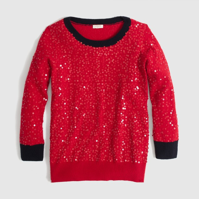 Factory scattered-sequin sweater : FactoryWomen Pullovers | Factory
