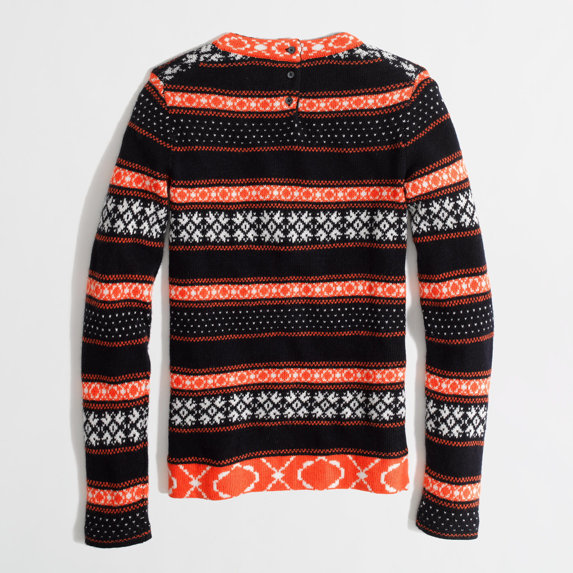 Factory warmspun stripe Fair Isle sweater : FactoryWomen Pullovers ...
