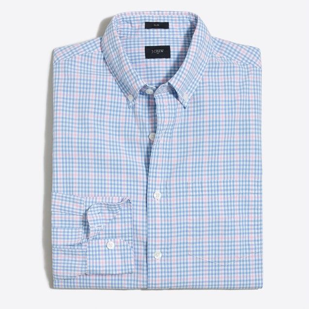 Tall slim washed shirt