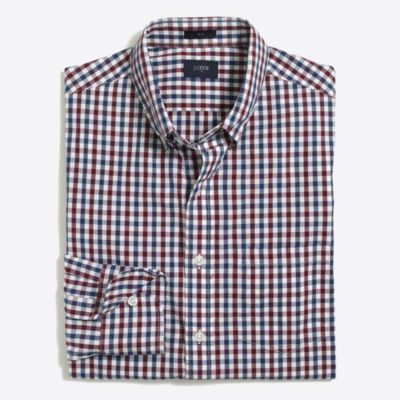 Tall slim washed shirt factorymen tall c