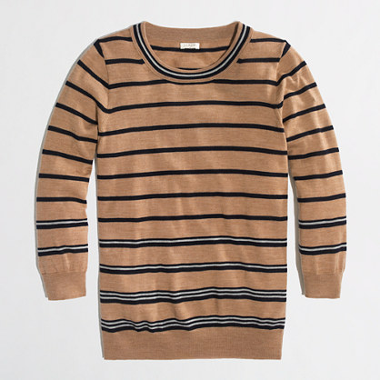 Factory Charley sweater in multistripe