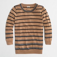 Factory Charley sweater in multistripe