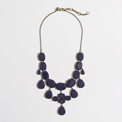 Factory dangling jewels necklace