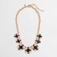 Factory crystal disk necklace