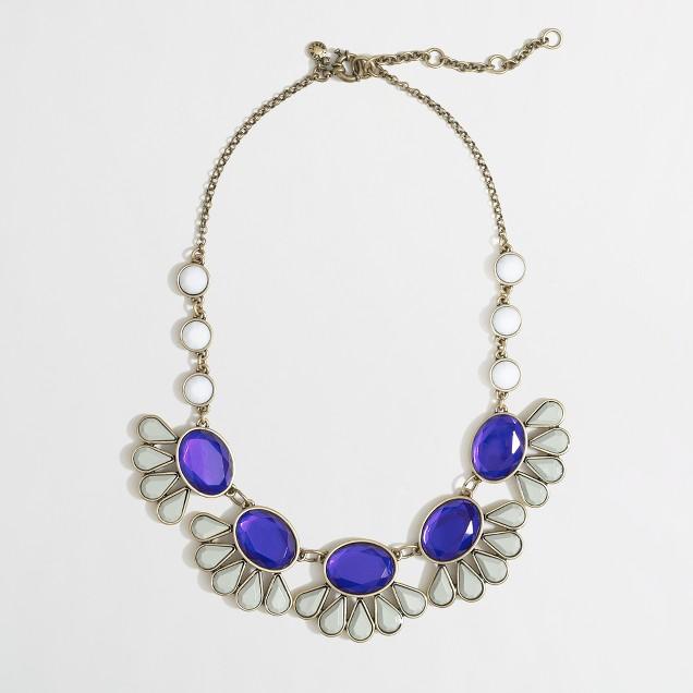 Factory teardrop flower necklace