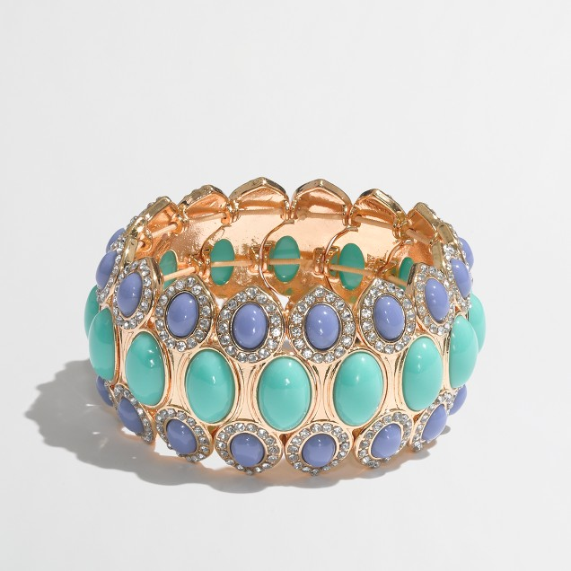 Factory pastel oval cuff