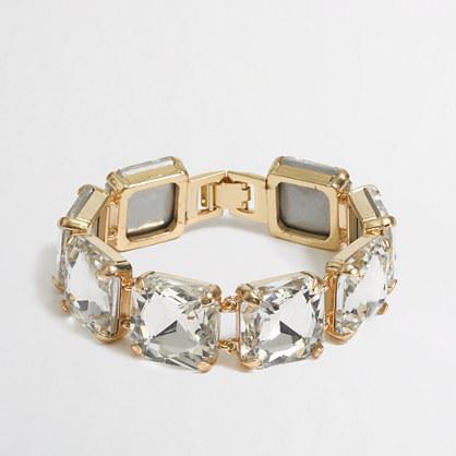 Factory square stone bracelet