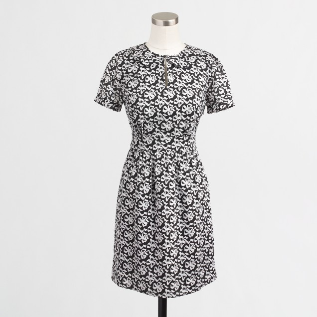 Factory bow tie dress