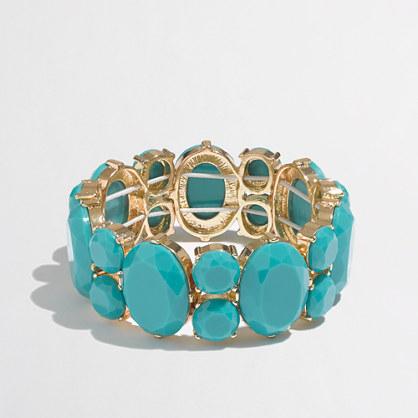 Factory crystal stretch bracelet