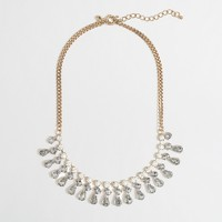 Factory crystal teardrop necklace