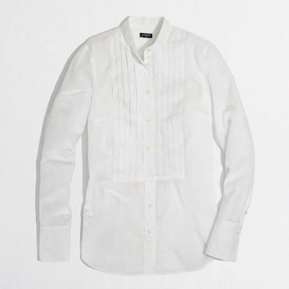 Factory tuxedo shirt