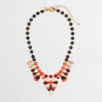Factory stone teardrop necklace