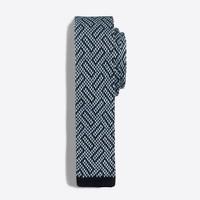 Knit Fair Isle tie