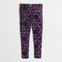 Factory girls' Gigi pant in geometric print