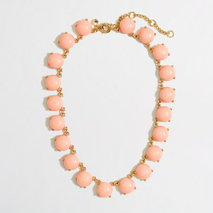 Factory circle stones necklace