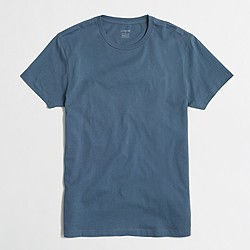Factory slim washed T-shirt