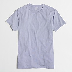 Factory slim heathered washed T-shirt