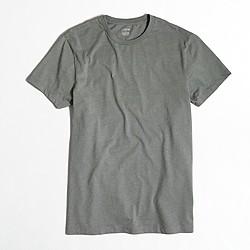 Factory slim heathered washed T-shirt