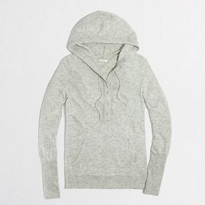 Factory henley hoodie