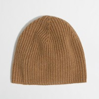 Factory slouchy wool-blend hat