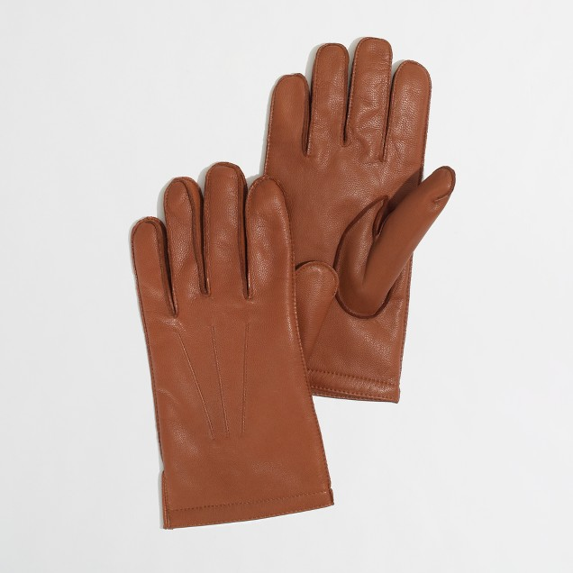 Factory leather gloves