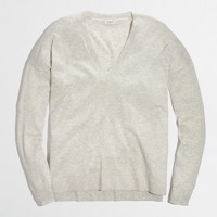 Factory summerweight boyfriend sweater