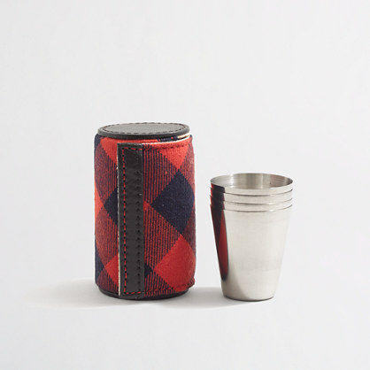 Factory bottoms-up cups