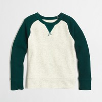 Factory boys' baseball sweatshirt