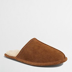 Factory shearling slippers