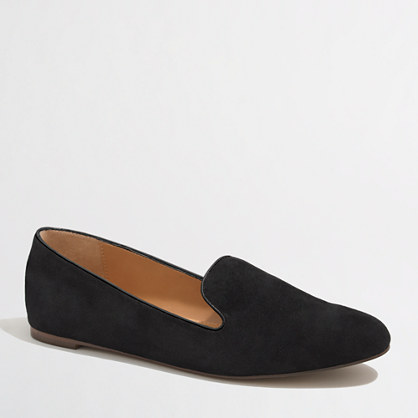 Factory Addie suede loafers