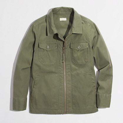 Factory boys' chino utility jacket