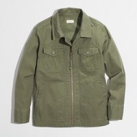Factory boys' chino utility jacket