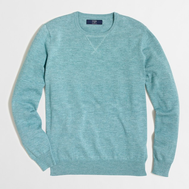 Heathered sweatshirt sweater