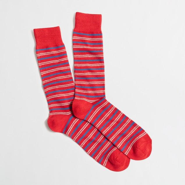 Double-striped socks
