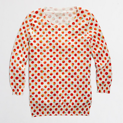 Factory Charley sweater in orange