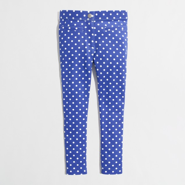 Factory girls' Gigi pant in polka dot