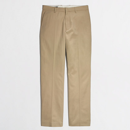 Factory Thompson suit pant in chino