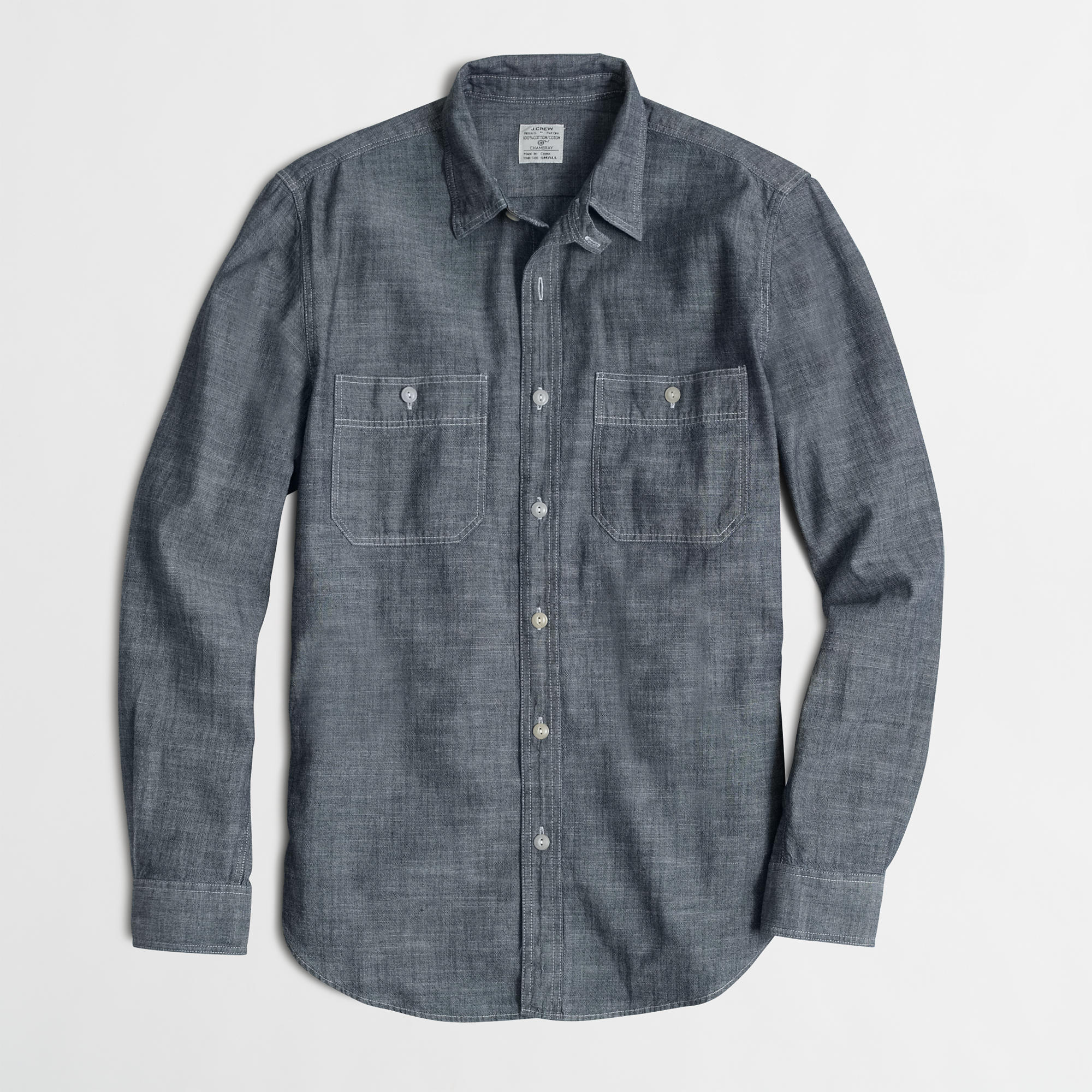 Factory chambray workshirt factory for Chambray 7 s